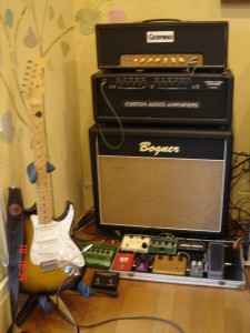 Don Grosh Retro Classic & Amp_effect Rig