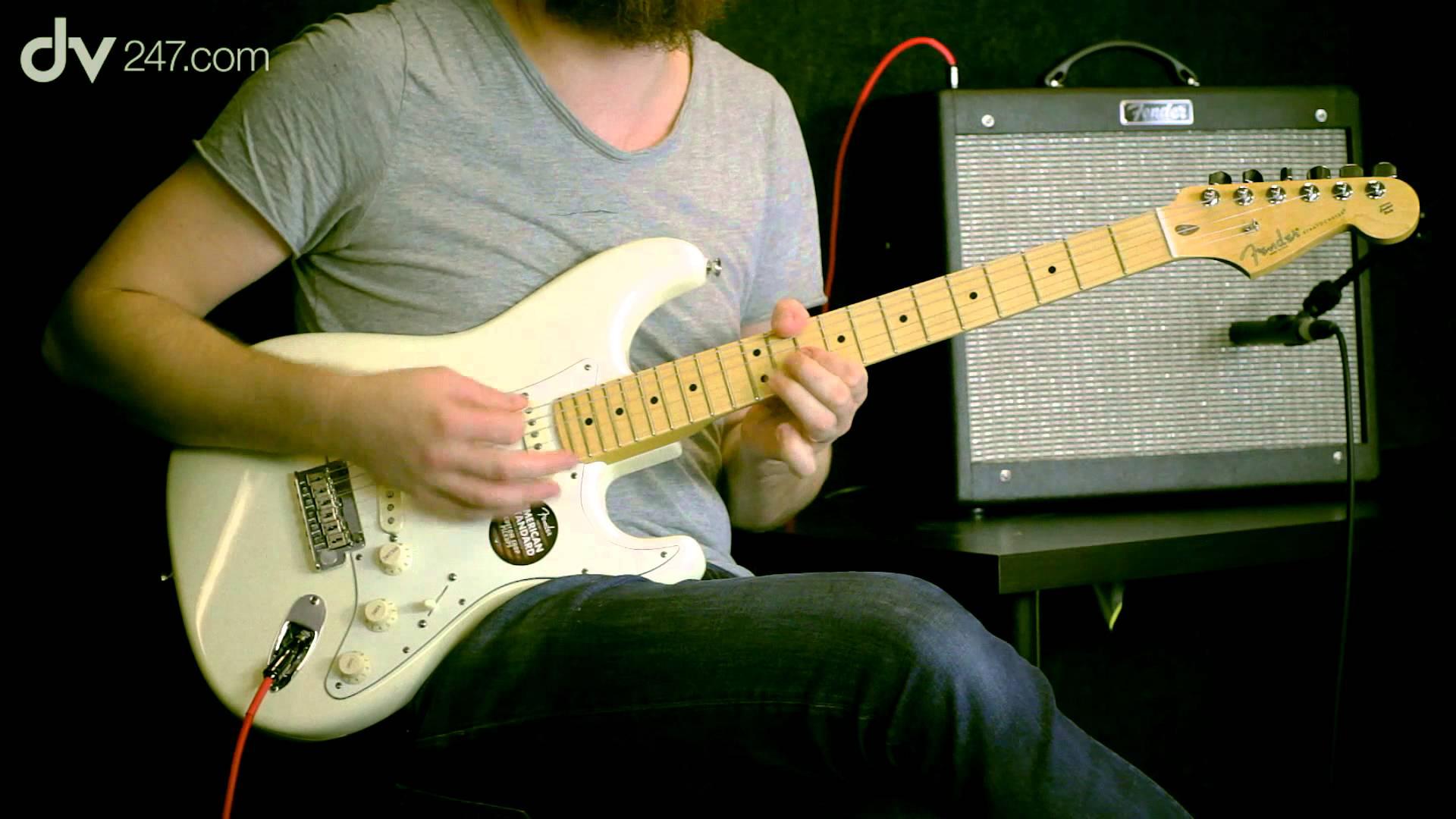 [產品評估]Fender American Standard Stratocaster(3)