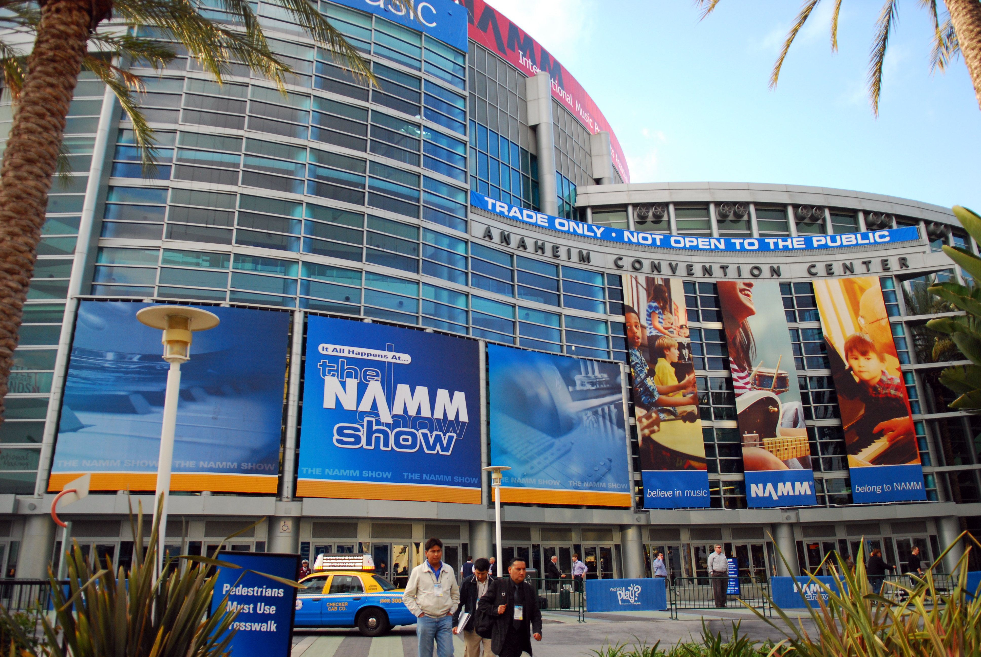 NAMM_Show_2010_at_Anaheim_Convention_Center
