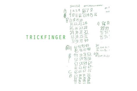 john frusciante trickfinger-trickfinger