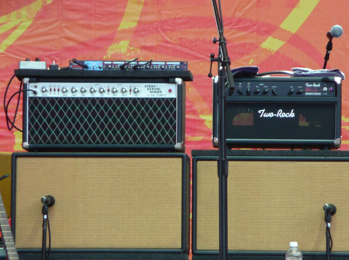 John mayer stage amps