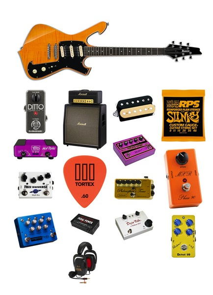 Paul Gilbert gear