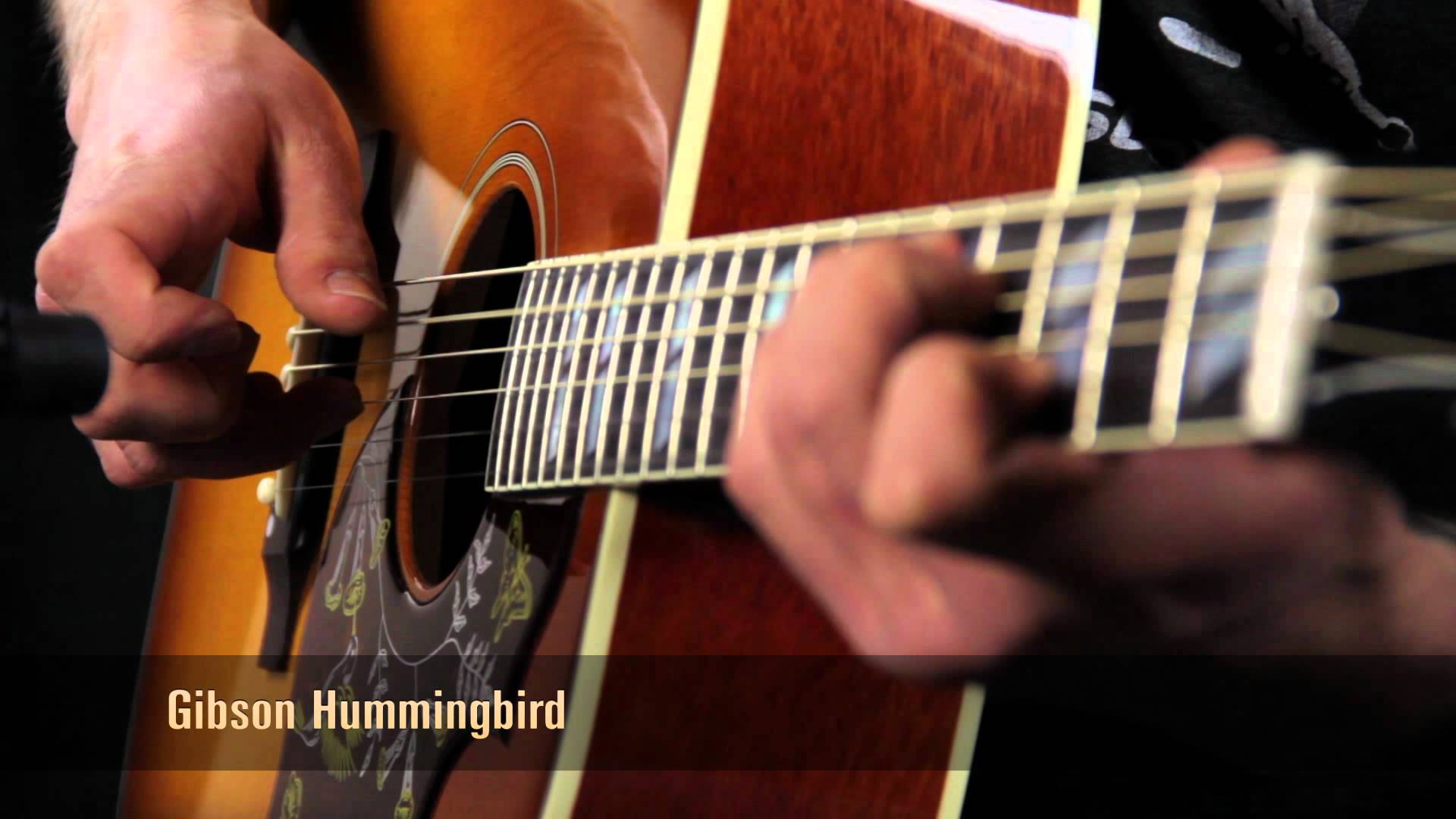 民謠吉他:Martin D18 v.s. Gibson Hummingbird