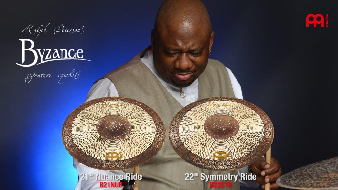"Meinl: 紳士般的爵士好鈸 22"" Symmetry Ride & 21"" Nuance Ride"