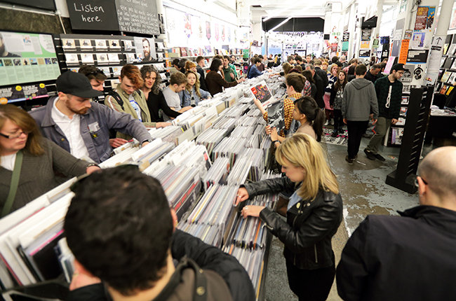 Record Store Day 2014 - Rough Trade East In London