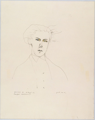 Portrait of Rimbaud