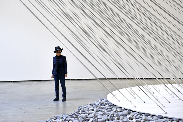 Yoko Guggenheim exhibition