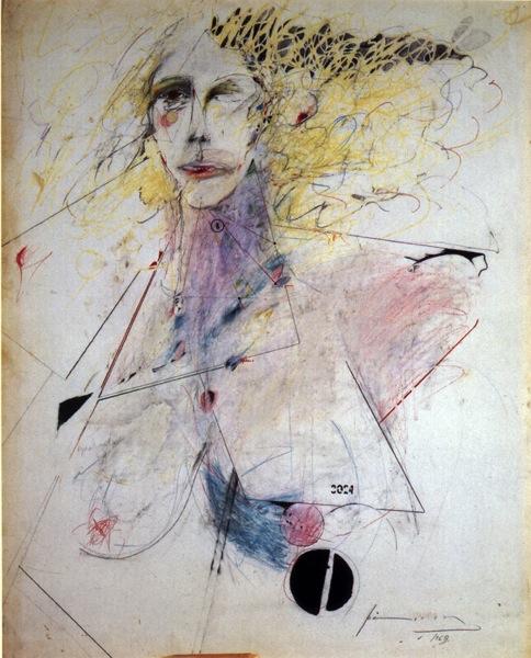 Patti smith selfportrait1969