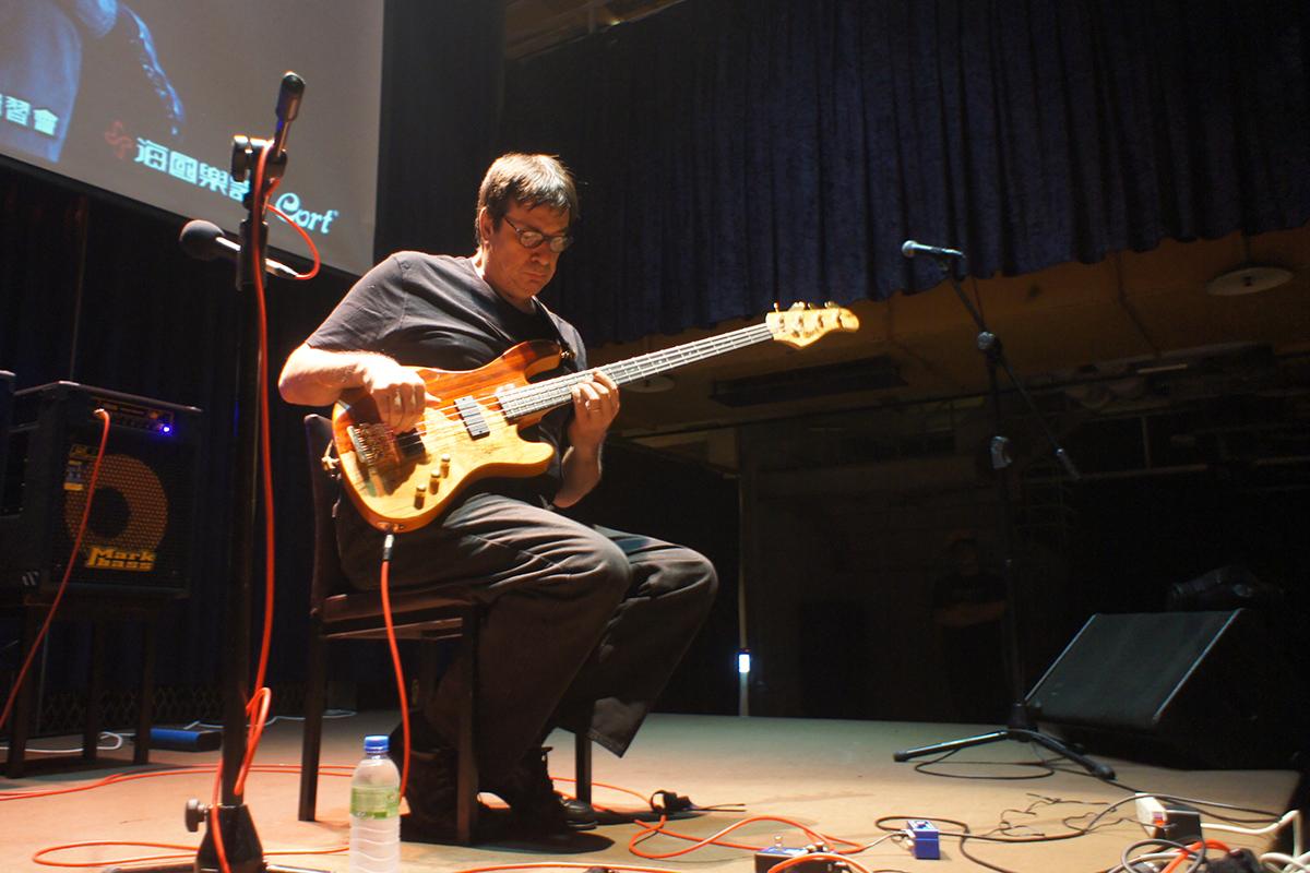 Jeff Berlin 臺北講座
