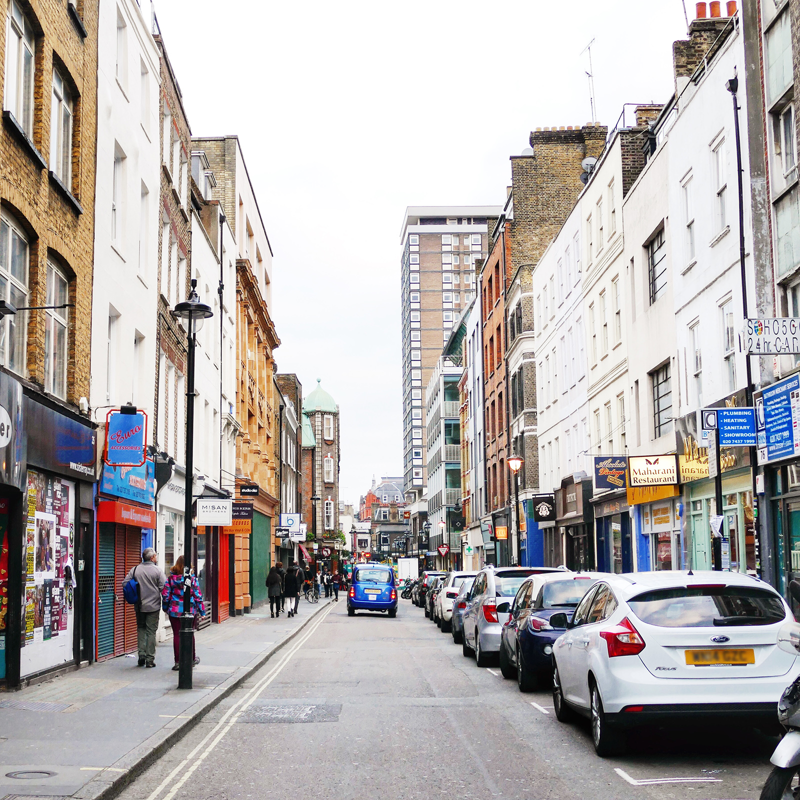 Berwick St. Photo by Hyphen