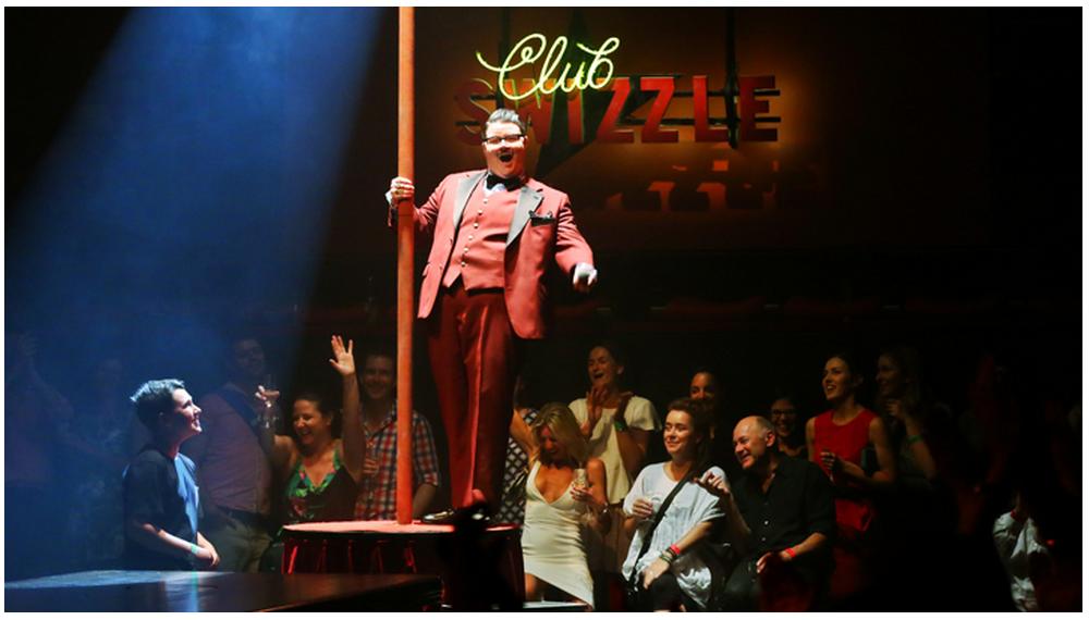 布里斯本節的表演現場洋溢著歡笑與驚奇。