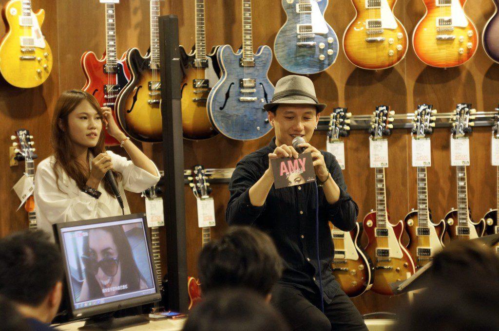 吳志寧分享Nirvana如何影響他的音樂生活以外,也向大家推薦音樂紀錄電影AMY