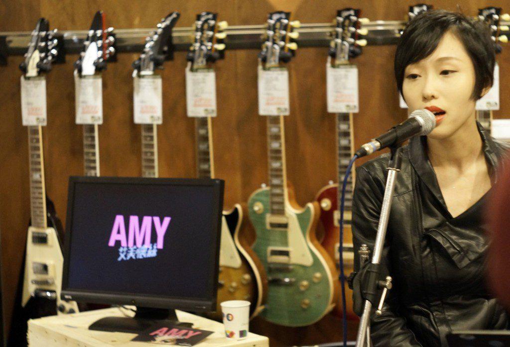 美聲超偶踢館歌手Ann獻上AMY經典歌曲
