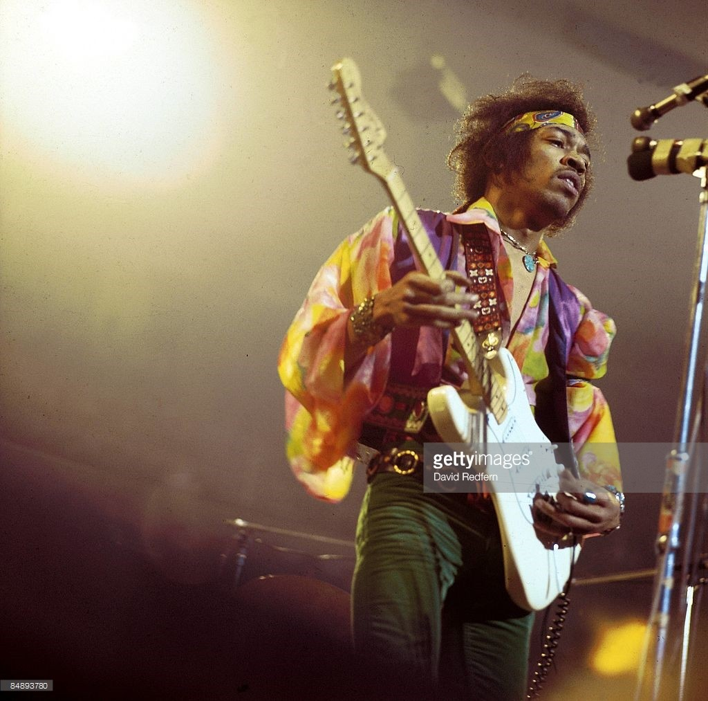 Jimmy Hendrix by Getty Images