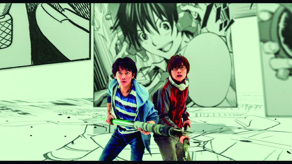 【爆漫王】劇照:流暢的CG動畫打造精彩漫畫生死戰