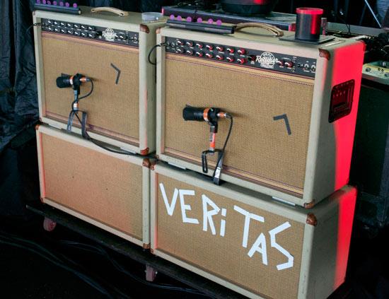 Mike的巡演音箱 Photo:Premier Guitar