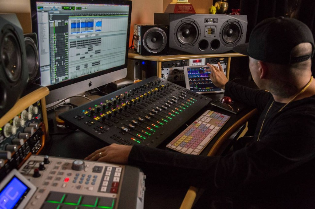 ProTools control. Photo by AVID