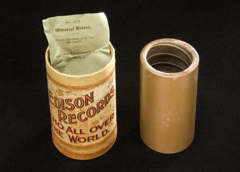愛迪生蠟筒 Arthur Collins, S. H. Dudley and Ancient City. Edison Record: 4705. 1899.