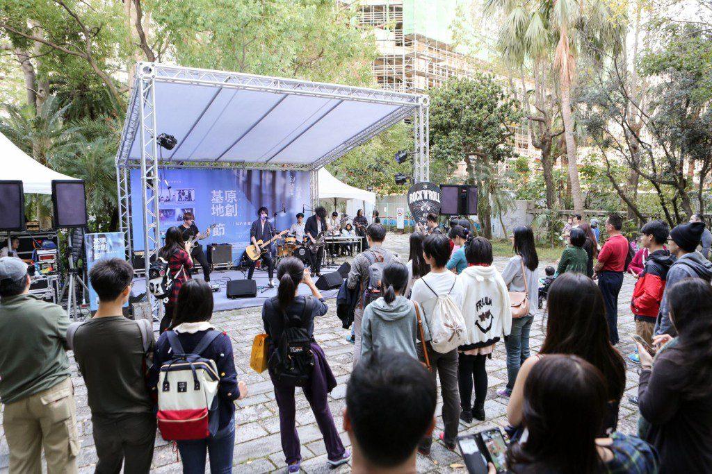 每週六的「我的音樂時代」,邀請台灣8組知名原創音樂樂團演出 (1)