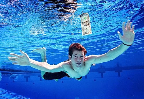 13th October 2008, Los Angeles, California. Spencer Elden (born July 9, 1991) is the baby / model who appeared on the iconic cover of Nirvana's album Nevermind. PHOTO © JOHN CHAPPLE / SPLASH NEWS