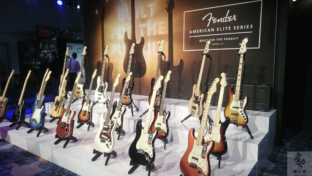 FENDER新款吉他American Elite展示