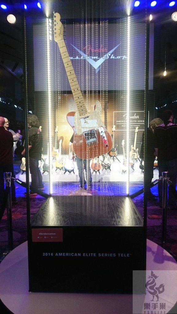 FENDER新款吉他American Elite