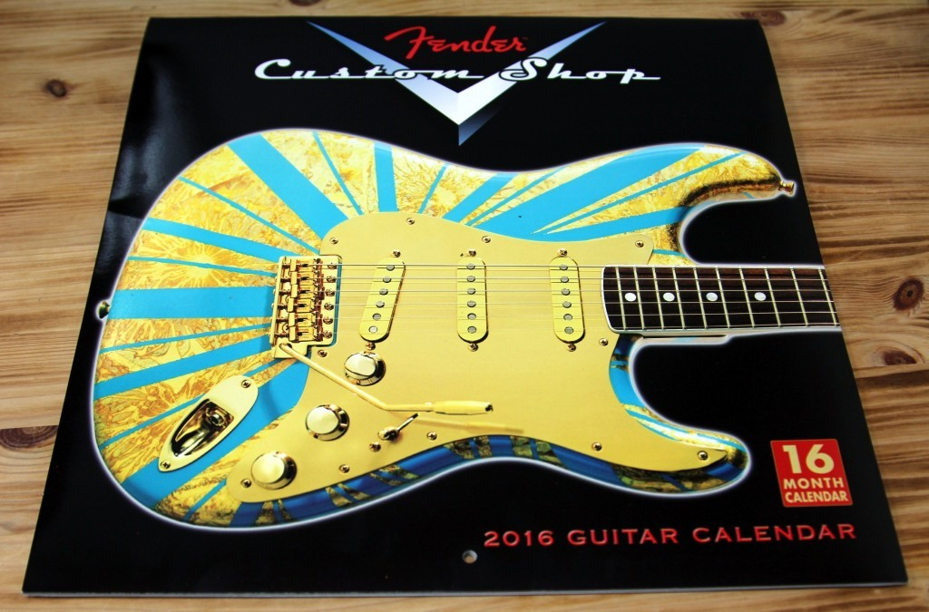 Fender月曆1