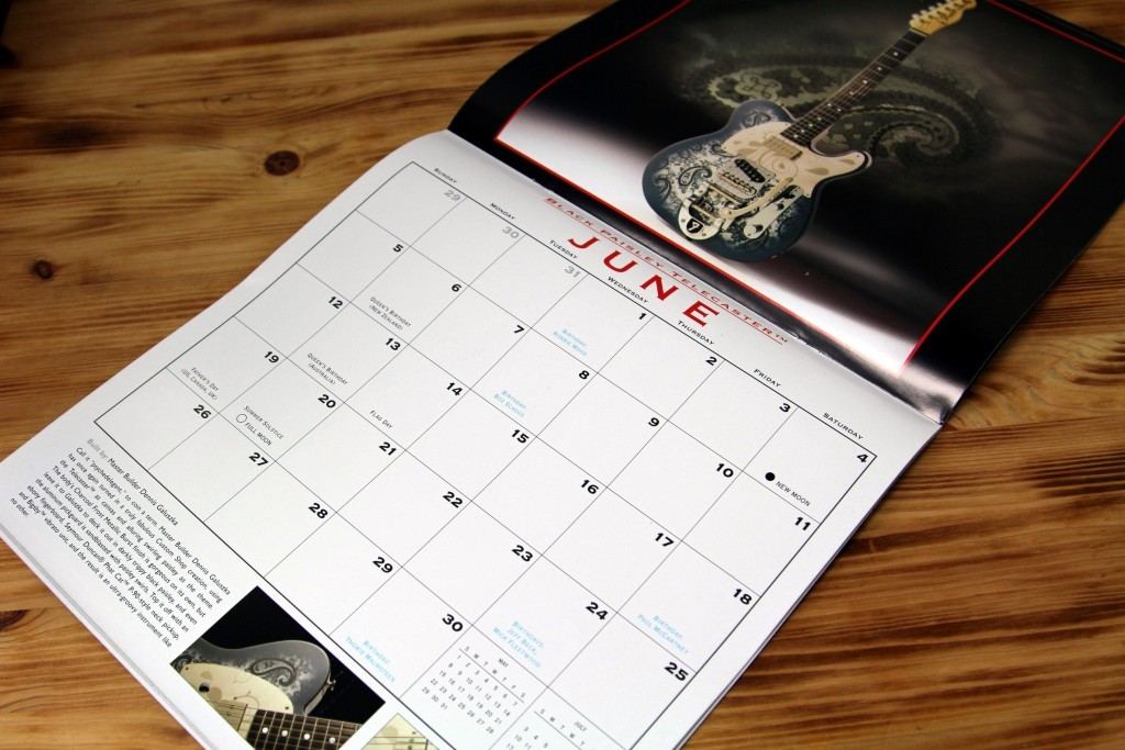 Fender月曆2