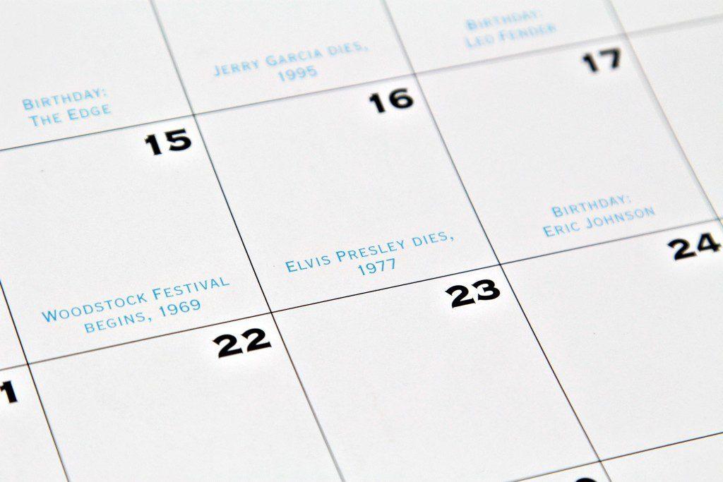 Fender月曆3