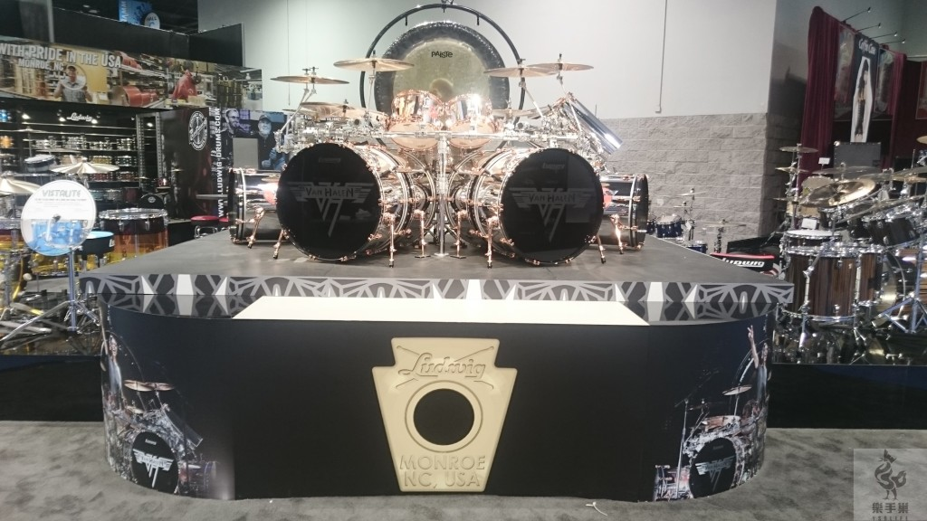 LUDWIG的Van Halen鼓手鼓組