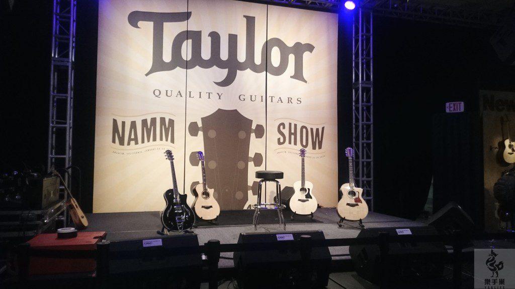 Taylor表演舞台