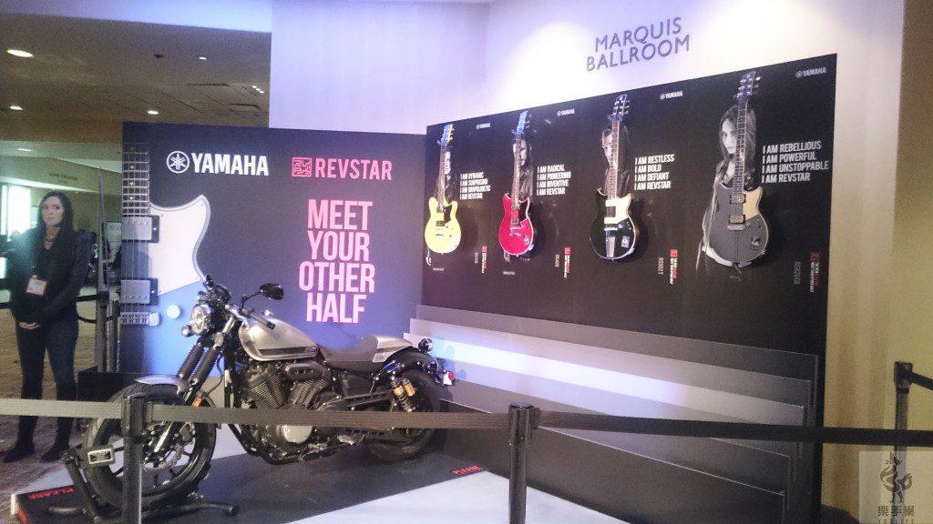 YAMAHA(獨立展示會館)的新系列吉他