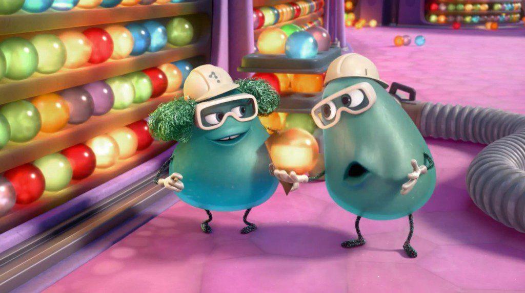「我們再來聽一下X File主題曲吧!」 圖片:Disney/Pixar/Inside Out