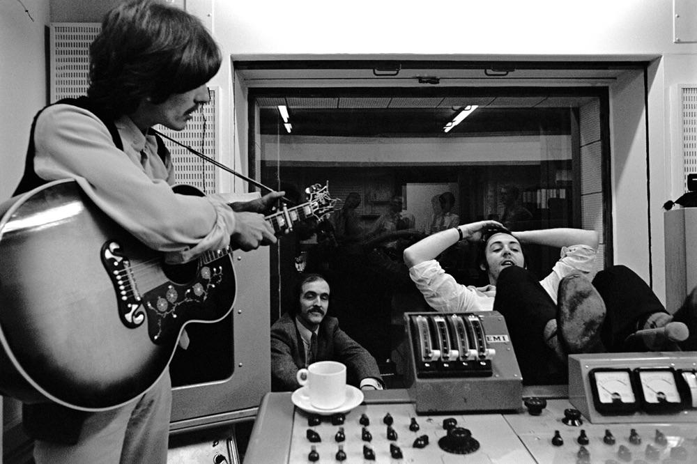 左:George Harrison,右:Paul McCartney 圖片:thebeatles.com