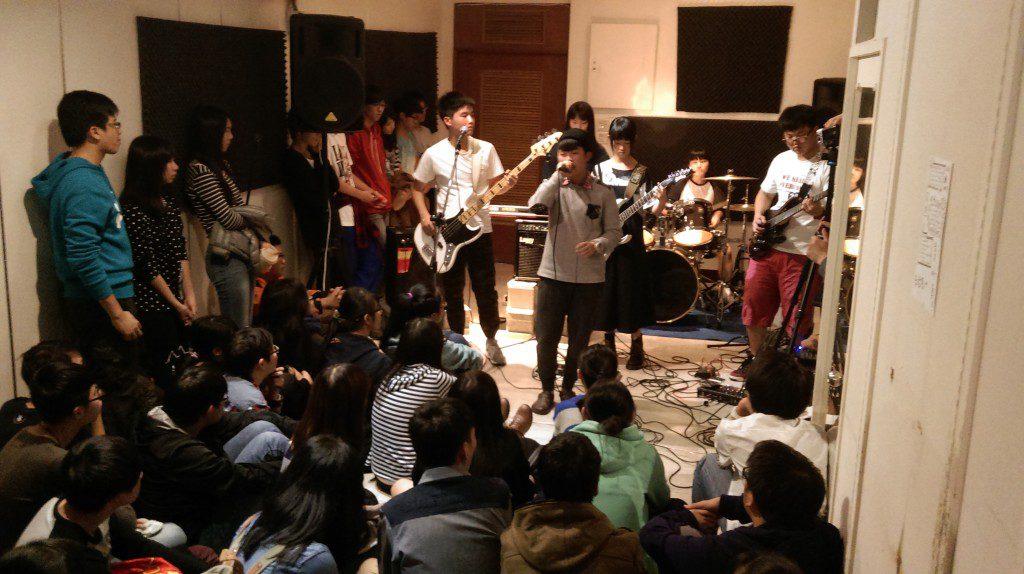 學生樂團演出