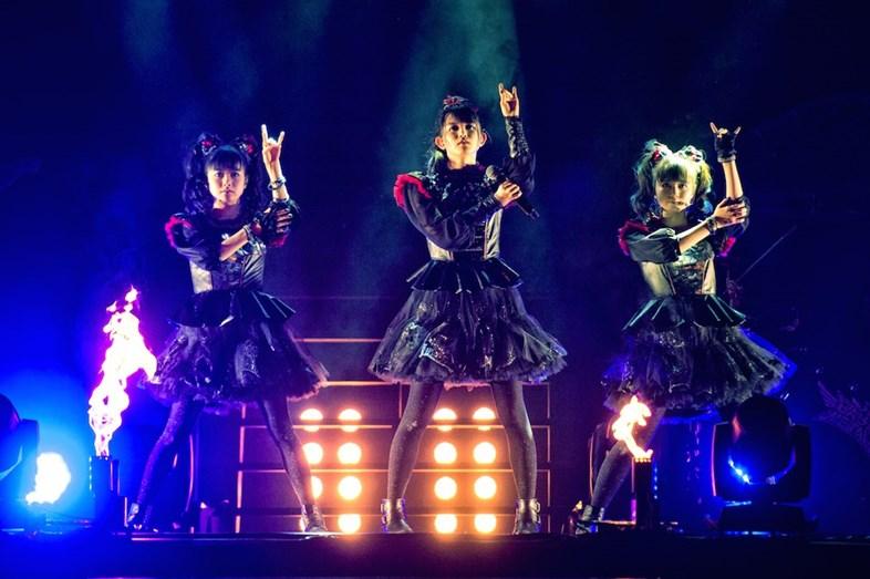 日本金屬樂再次席捲歐美!BABYMETAL強佔外媒版面