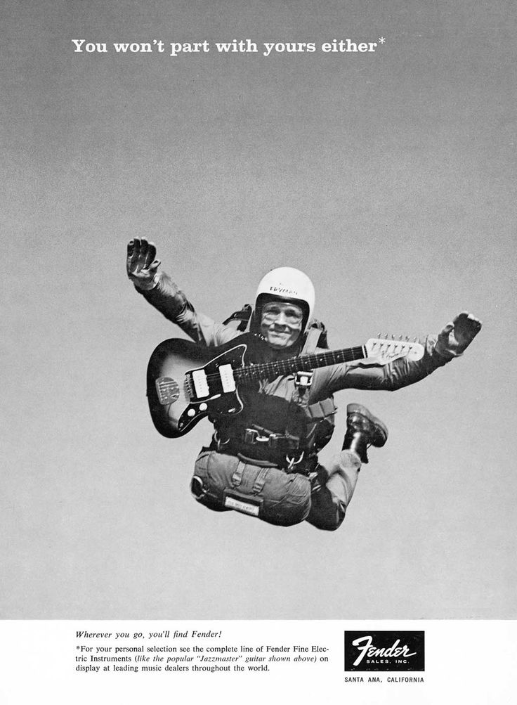 FENDER SKYDIVING