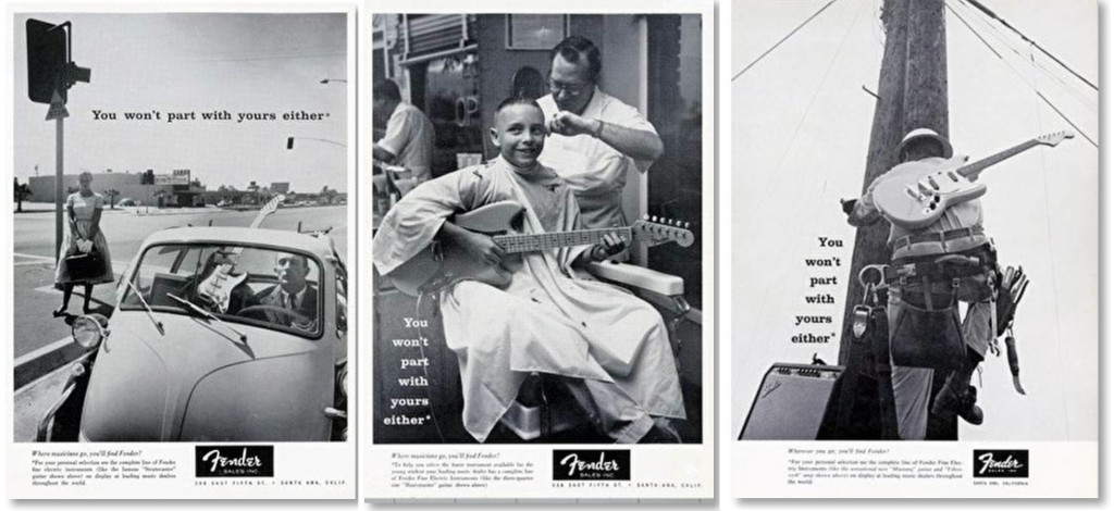 PHOTO: FENDER GUITARS