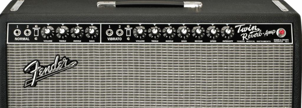 Fender Twin Reverb音箱設置有彈簧Reverb