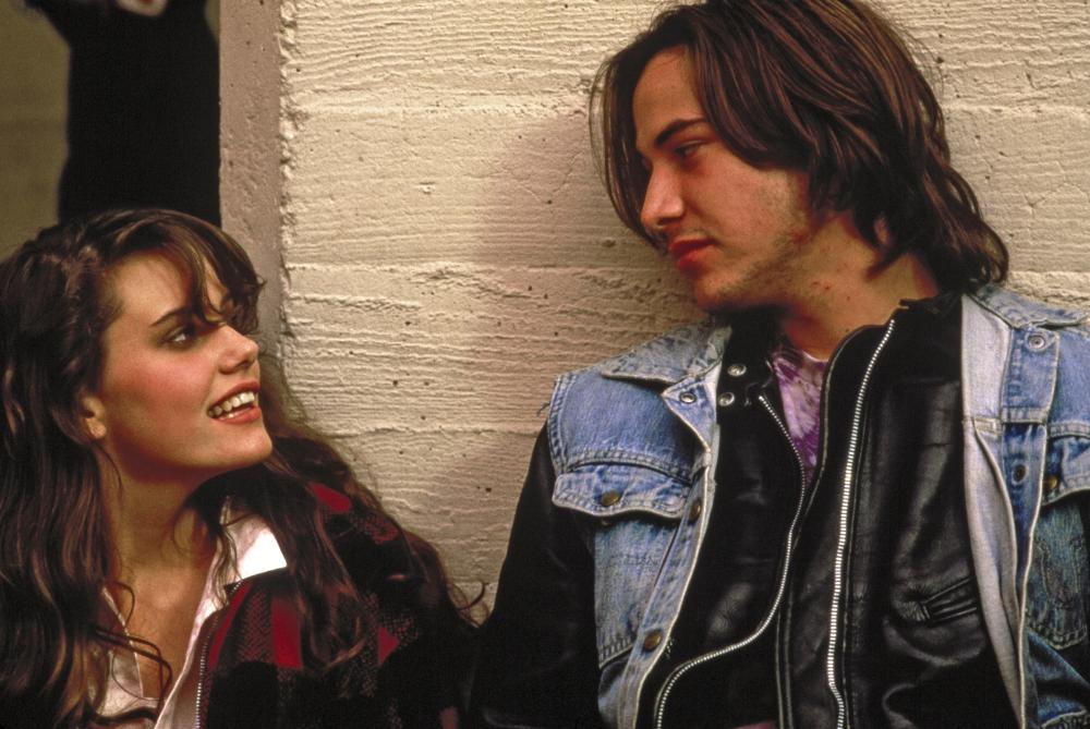 RIVER'S EDGE, Ione Skye, Keanu Reeves, 1986, (c) Island Pictures