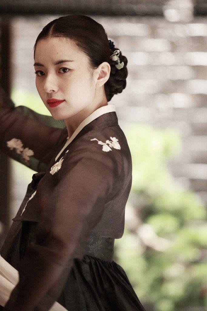 《解語花》劇照3-韓孝周飾演歌妓