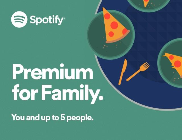 【新聞稿圖片1】Spotify家庭共享 Premium方案全新加碼
