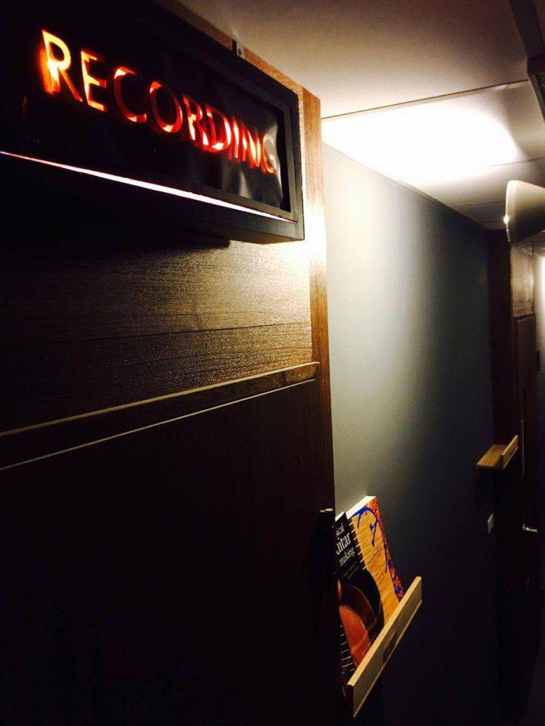 錄音室走道