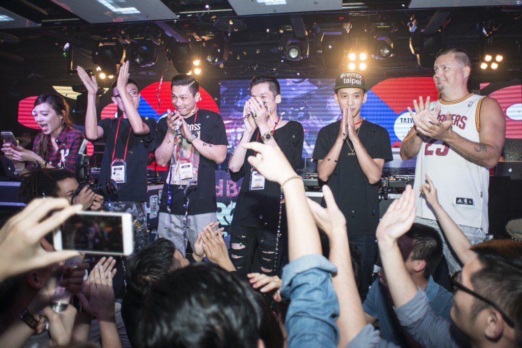 宣布2016年Red Bull Thre3style台灣冠軍DJ時的緊張時刻