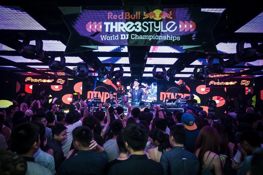 2016 Red Bull Thre3style 世界DJ大賽台灣站於Club Myst舉辦現場氣氛熱絡