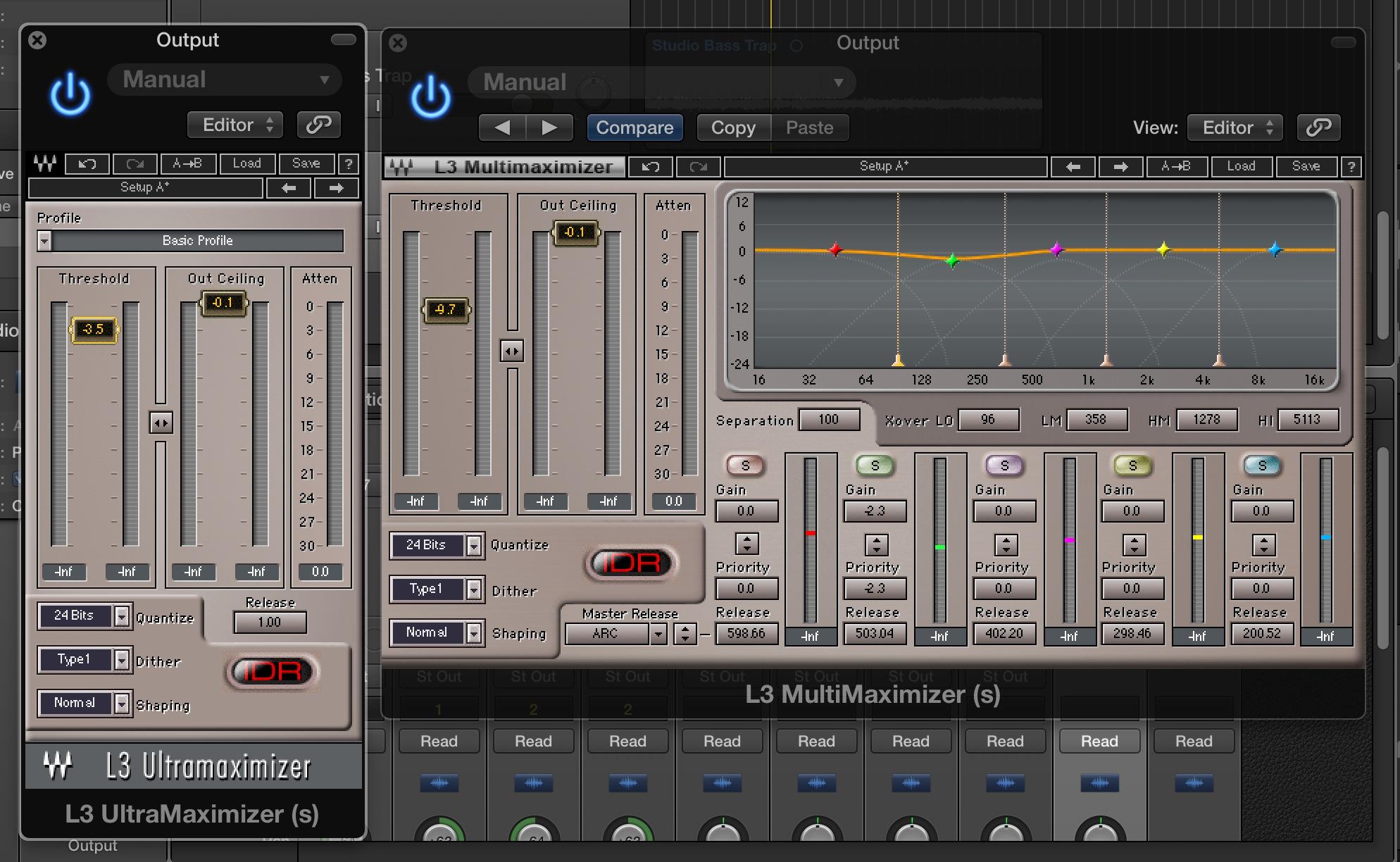 嗨!使 Waves L3 Limiter 做簡易Mastering的安全守則!
