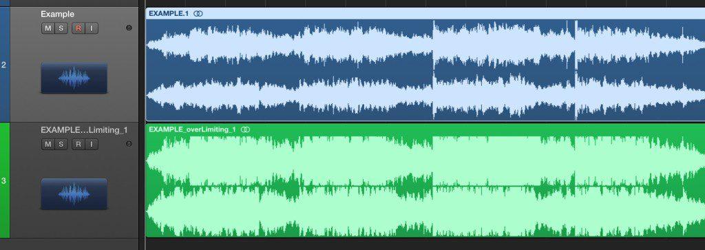 同樣一段樂句,過度壓縮動態,會讓音樂聽起來沒有起伏