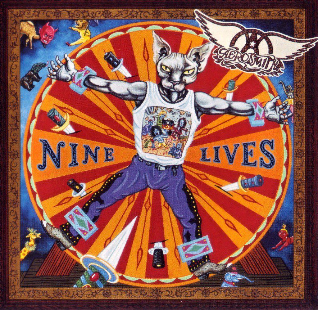 Aerosmith - 1997 - Nine Lives (2nd Cover)