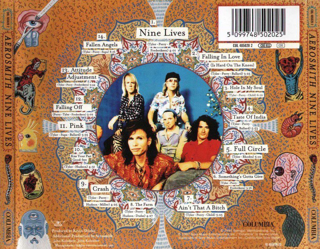 Aerosmith - Nine Lives-Back