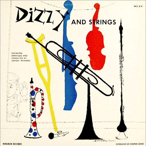 1955 Dizzy Gillespie _Dizzy and Strings_ EP